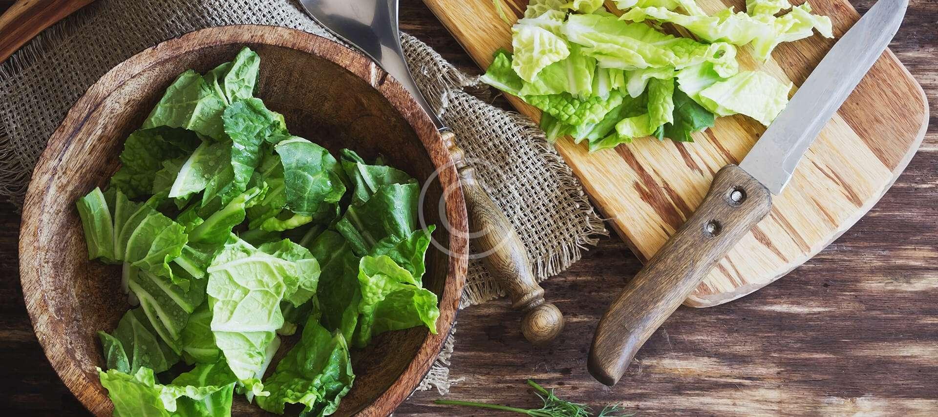 Green Salad With Honey Olive Vinaigrette
