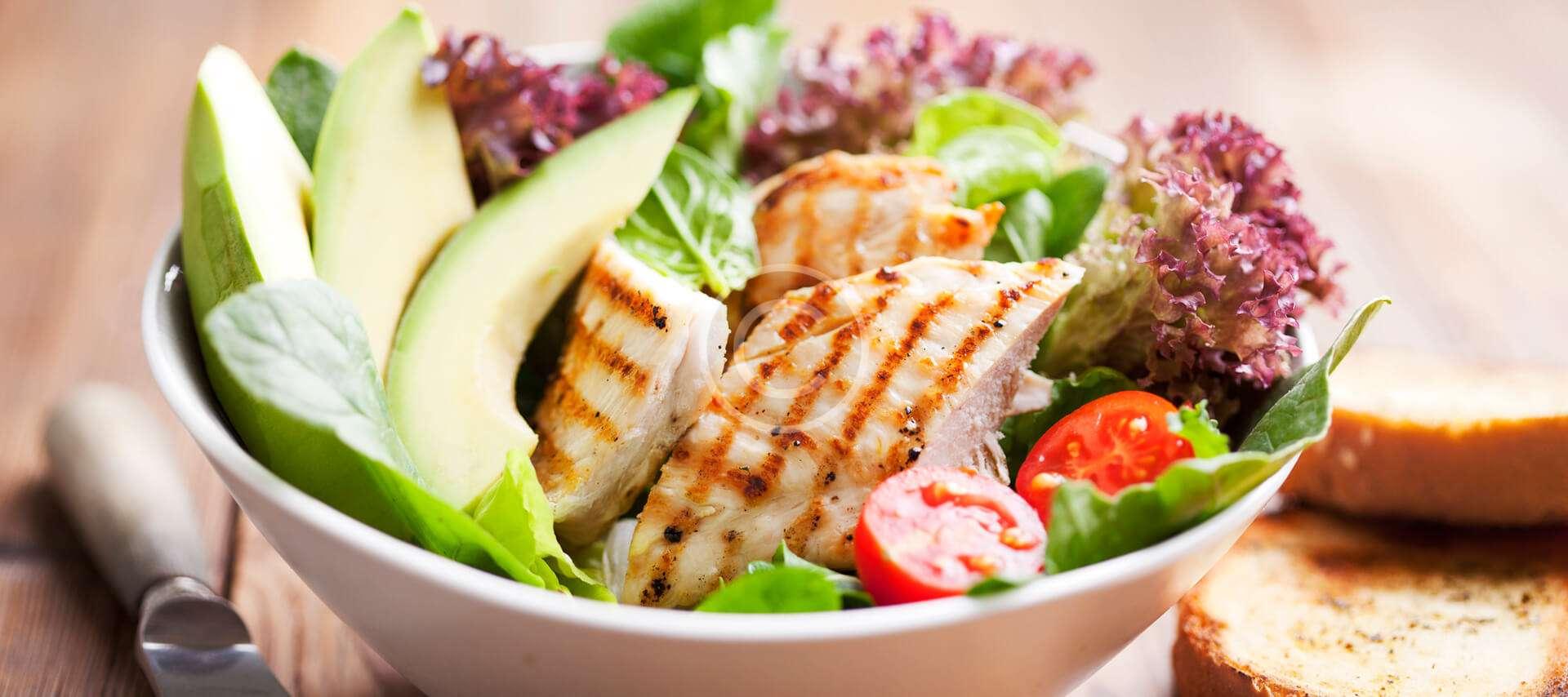 Mexican Chicken Avocado Salad